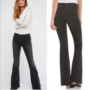 Free People / Grey Penny Pull Pants